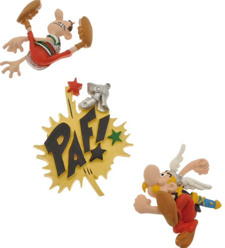 Mini magnets Asterix