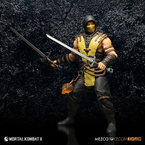 Mortal Kombat: Scorpion 12 inch figure