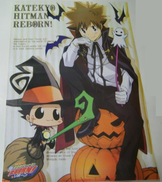 Hitman Reborn αφίσα