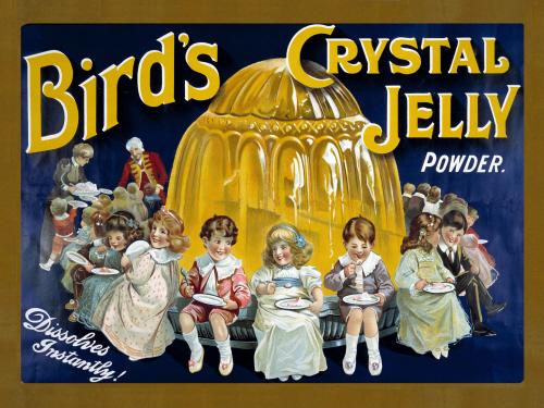 Birds crystal jelly