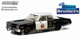 Blues Brothers ,1974 dodge monaco black/white