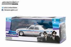 Blues Brothers ,1975 dodge monaco blue/white