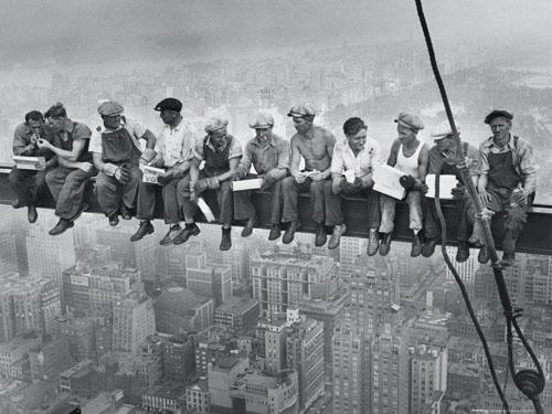 Νέα υόρκη εργάτες