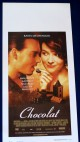 CHOCOLAT-Johnny Depp,Juliette Binoche (2000) ORIGINAL ITALIAN MOVIE POSTER